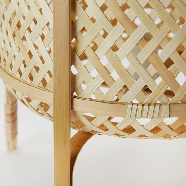 KNIXHULT Floor lamp, bamboo