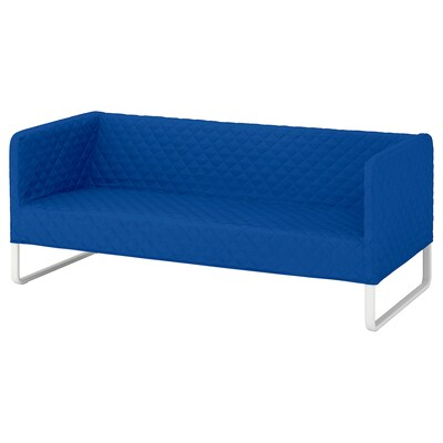 KNOPPARP Sofa, Knisa bright blue