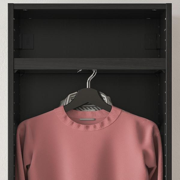 "KOMPLEMENT Clothes rail, black-brown, 19 5/8x13 3/4 """
