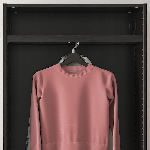 "KOMPLEMENT Clothes rail, black-brown, 29 1/2x13 3/4 """