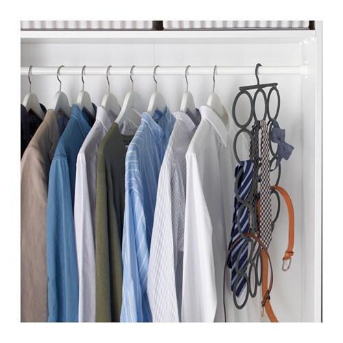Komplement multi use hanger ikea for Ikea belt hanger
