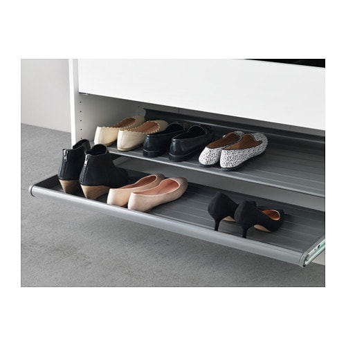 KOMPLEMENT Pullout shoe shelf white 100x58 cm IKEA