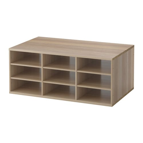KOMPLEMENT Sectioned shelves   10-year Limited Warranty.   Read about the terms in the Limited Warranty brochure.