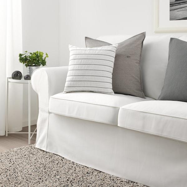 "KONSTANSE cushion white/dark gray 16 "" 16 "" 9 oz 13 oz"