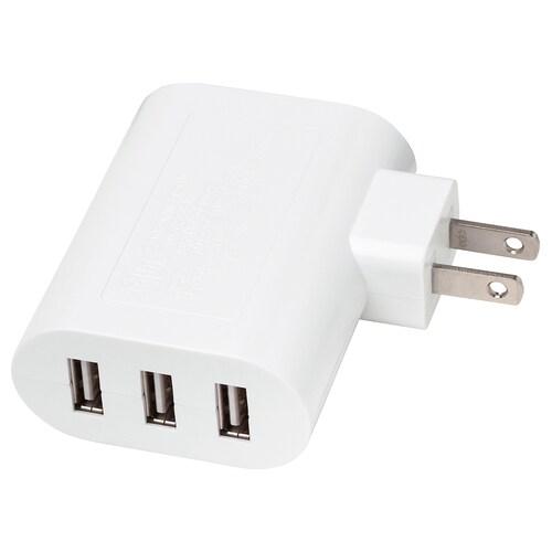 IKEA KOPPLA 3-port usb charger