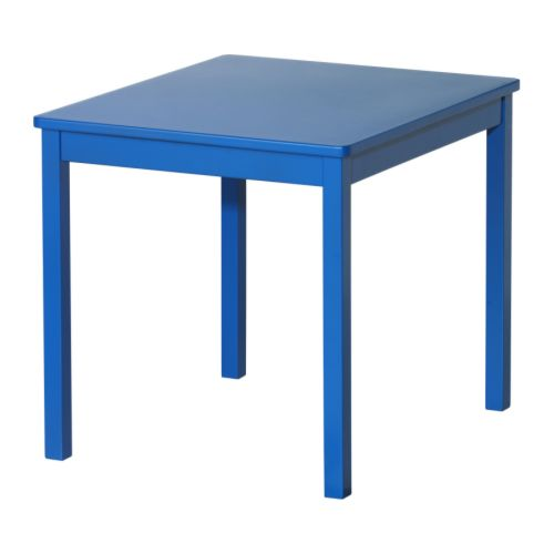 KRITTER Children's table   Its small dimensions make it especially suitable for small rooms or spaces.