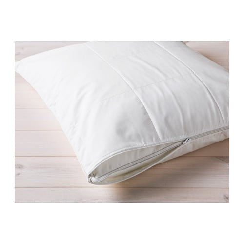 KUNGSMYNTA Pillow protector   You can prolong the life of your pillow and protect against stains and dirt with a pillow protector.