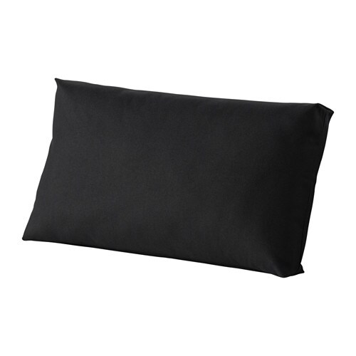 KUNGSÖ Back cushion, outdoor   The color stays fresh longer as the cover is fade resistant.