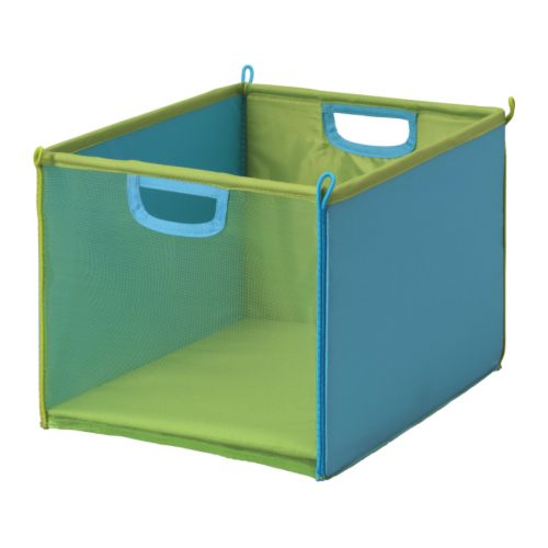 KUSINER Box   Practical storage for small things.  Can be folded to save space when not in use.