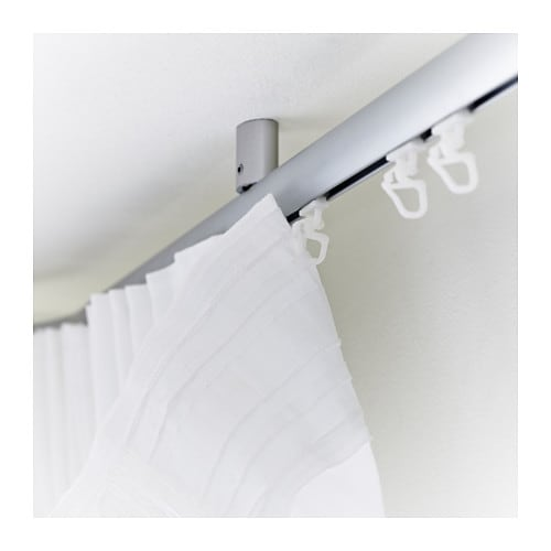 KVARTAL Glider and hook   For easy hanging of curtains with KVARTAL curtain suspension system.