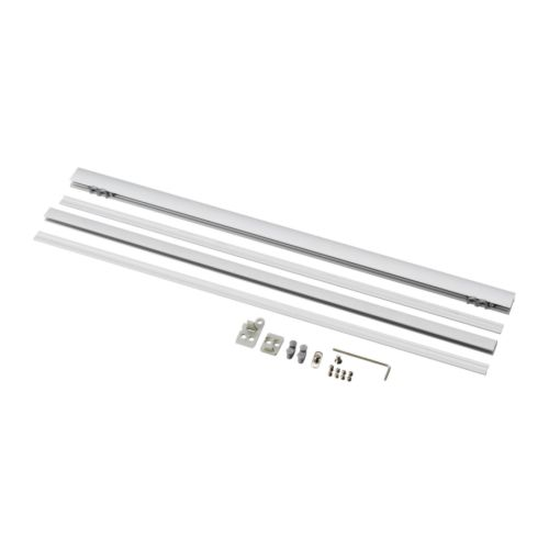 KVARTAL Top and bottom rail   For panel curtains; assures smooth and straight suspension.
