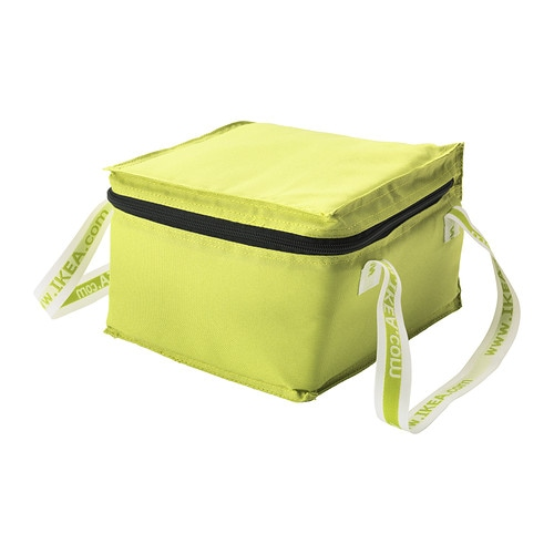 KYLVÄSKA TÅRTA Cool bag for cakes   A handy insulated bag with carrying straps.   Perfectly adapted to hold any three IKEA frozen cakes.