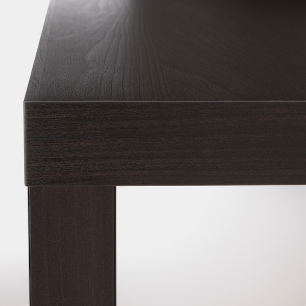 LACK Side table, black-brown, 21 5/8x21 5/8 ""