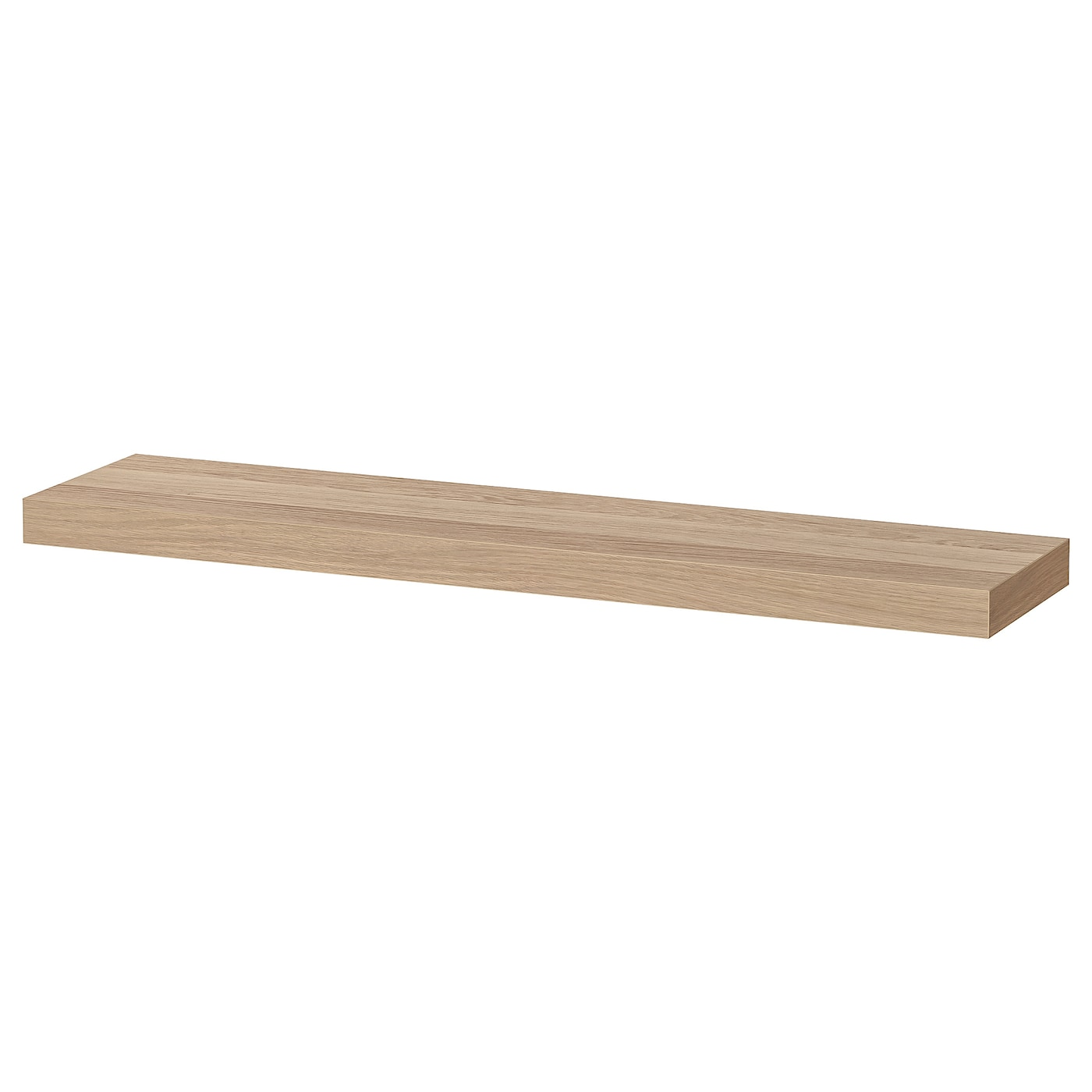Ikea LACK Wall shelf, white stained oak effect43 1/4x10 1/4