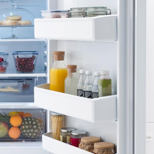 LAGAN Top-freezer refrigerator, white, 13.9 cu.ft