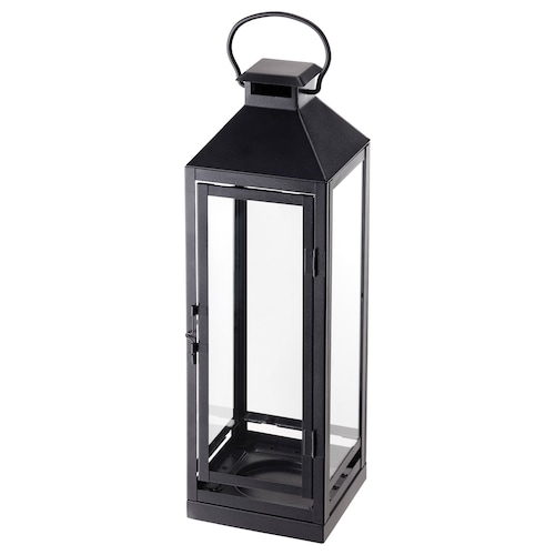 IKEA LAGRAD Lantern for candle, indoor/outdoor