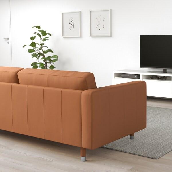 Landskrona Sofa Grann Bomstad Golden Brown Metal Ikea
