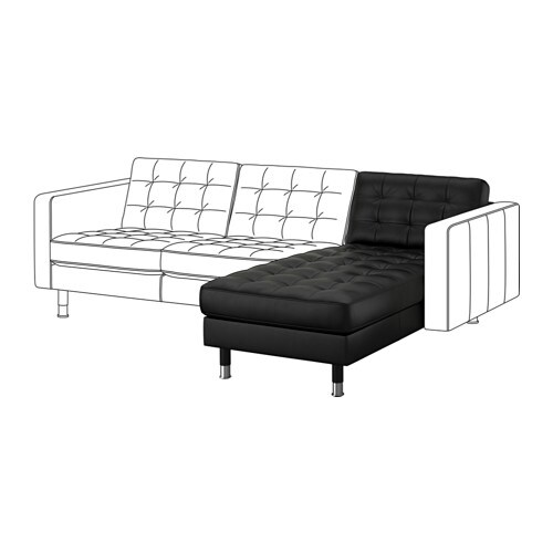 Landskrona chaise add on unit metal ikea - Chaise en osier ikea ...