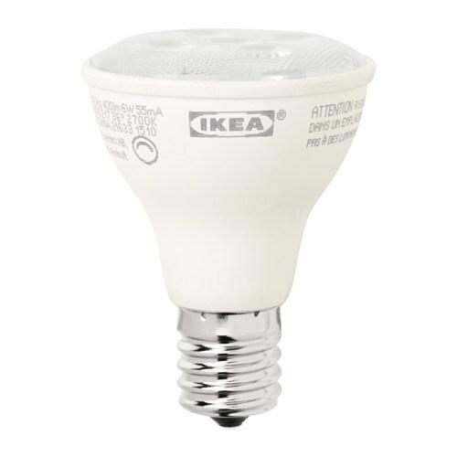 ledare led bulb e17 reflector r14 400 lm ikea. Black Bedroom Furniture Sets. Home Design Ideas