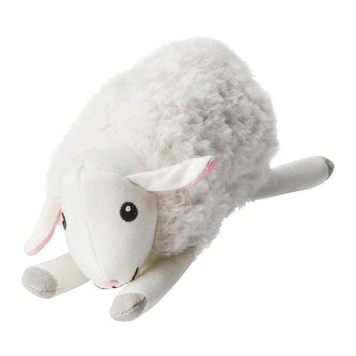 LEKA Musical toy, sheep   Stimulates a baby's sight, hearing and sense of touch.  Low sound level for baby's sensitive ears.
