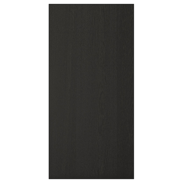 """LERHYTTAN Cover panel, black stained, 15x31 3/4 """""""