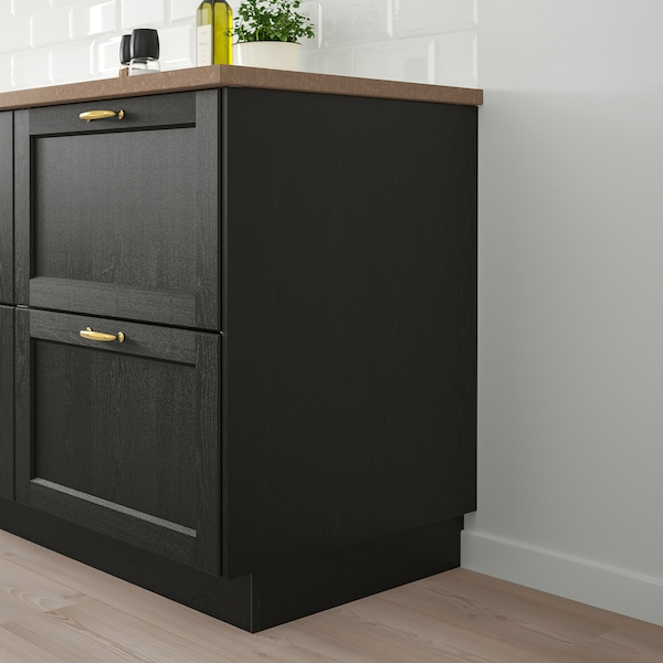 """LERHYTTAN cover panel black stained 15 1/2 """" 41 3/4 """" 1/2 """""""