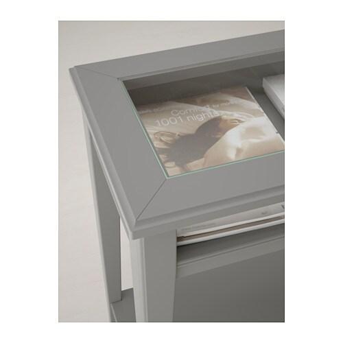 LIATORP Console table whiteglass IKEA