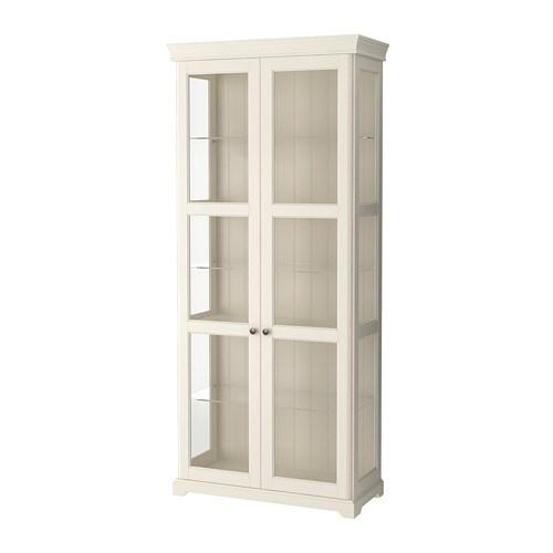 Liatorp Glass Door Cabinet White Ikea