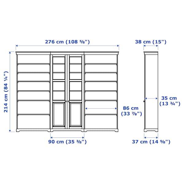 "LIATORP Storage combination, white, 108 5/8x84 1/4 """