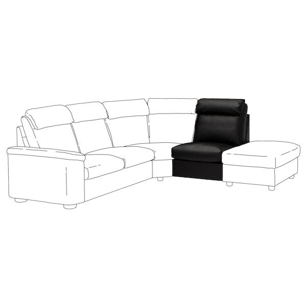 LIDHULT 1-seat section, Grann/Bomstad black