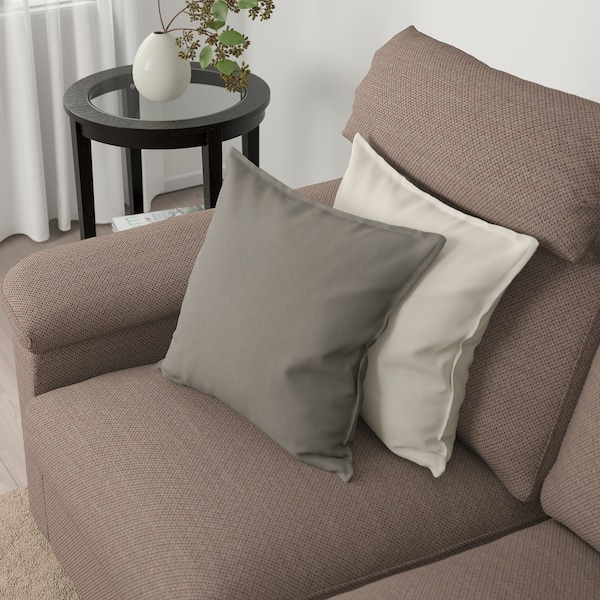 LIDHULT Sofa, Lejde beige/brown