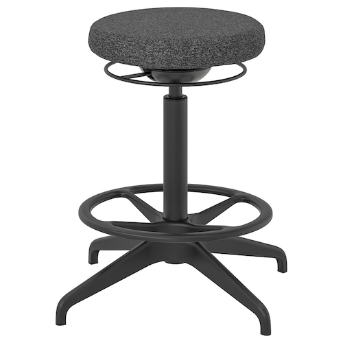 "LIDKULLEN sit/stand support Gunnared dark gray 243 lb 15 "" 23 5/8 "" 23 1/4 "" 31 7/8 """