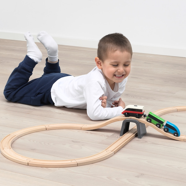 IKEA LILLABO Battery-operated locomotive