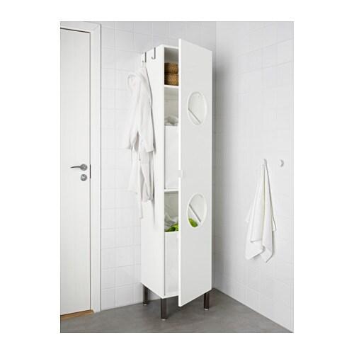LILLÅNGEN Laundry Cabinet   Stainless Steel, 40x38x194 Cm   IKEA