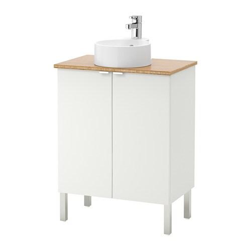 LILL…NGEN VISKAN GUTVIKEN Sink cabinet with 2 doors stainless