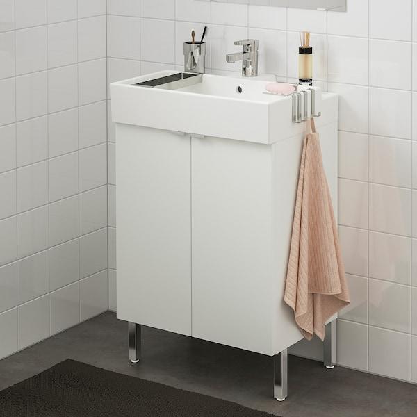 LILLÅNGEN Bathroom vanity w 2 doors - white, Ensen faucet ...