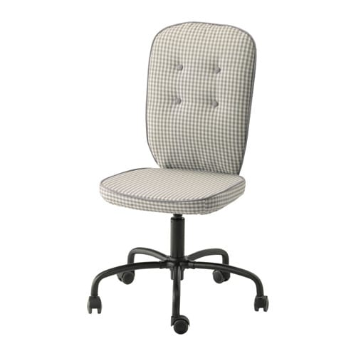 LILLHÖJDEN Swivel chair   You sit comfortably since the chair is adjustable in height.