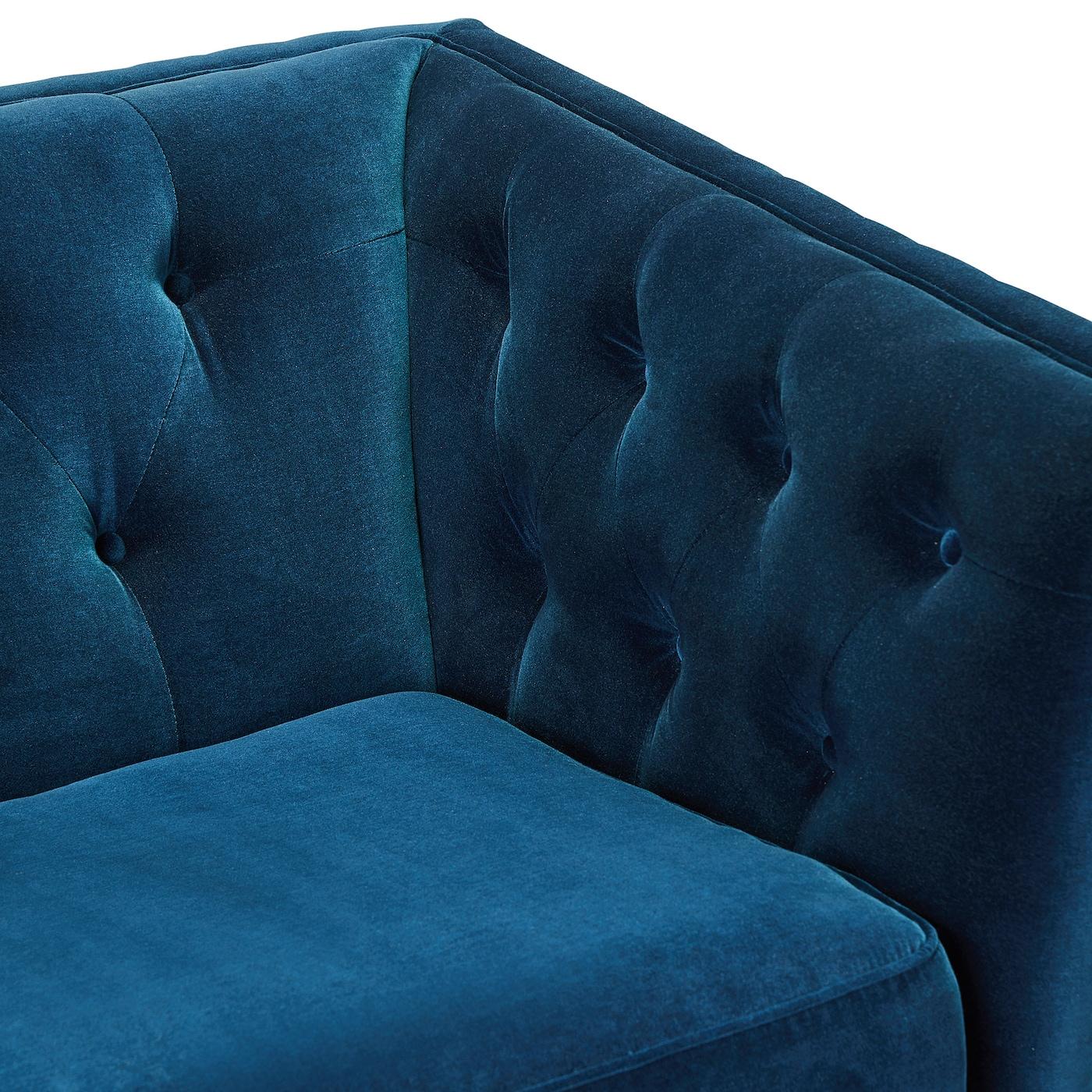 Lindome Sofa Djuparp Dark Green Blue Ikea