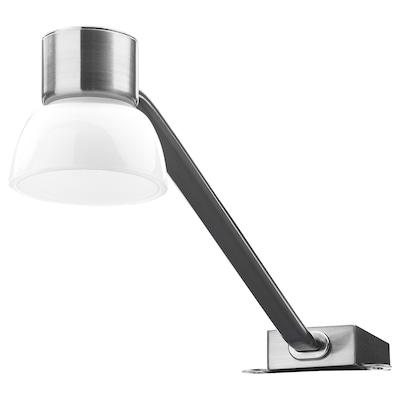 LINDSHULT LED cabinet light, nickel plated