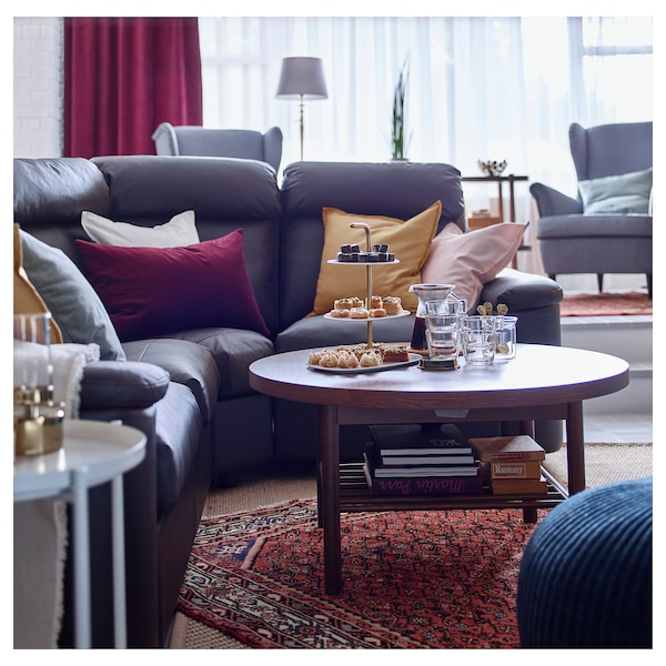 LISTERBY Coffee table - brown - IKEA