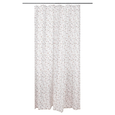 "LJUSÖGA shower curtain flower 71 "" 71 "" 34.88 sq feet"