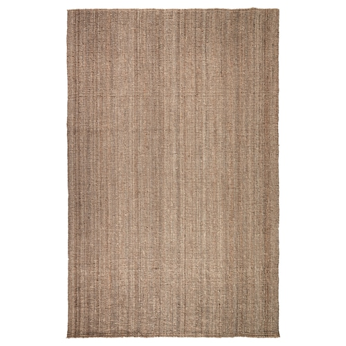 "LOHALS rug, flatwoven natural 9 ' 10 "" 6 ' 7 "" ½ "" 64.58 sq feet 10 oz/sq ft"