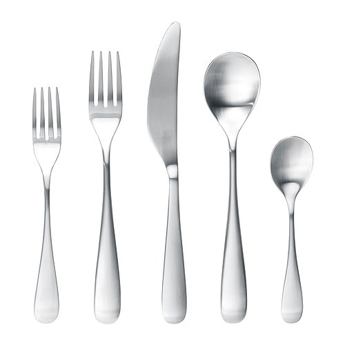 LÖJA 20-piece flatware set