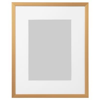 """LOMVIKEN Frame, gold-colour, 8x10 """""""