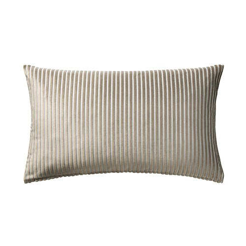 LUKTNYPON Cushion cover   Polyester velvet feels ultra soft against your skin.  The zipper makes the cover easy to remove.