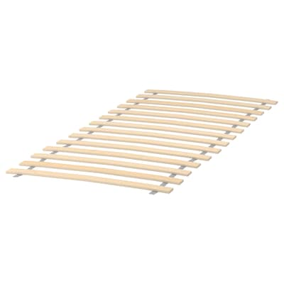 LURÖY Slatted bed base, 27 1/2x63 ""