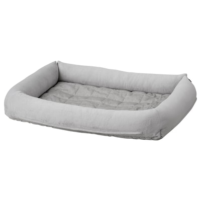 LURVIG Dog bed, light gray, L