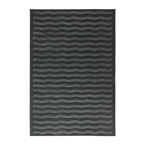 LYNÄS Door mat   Latex backing keeps the mat firmly in place.