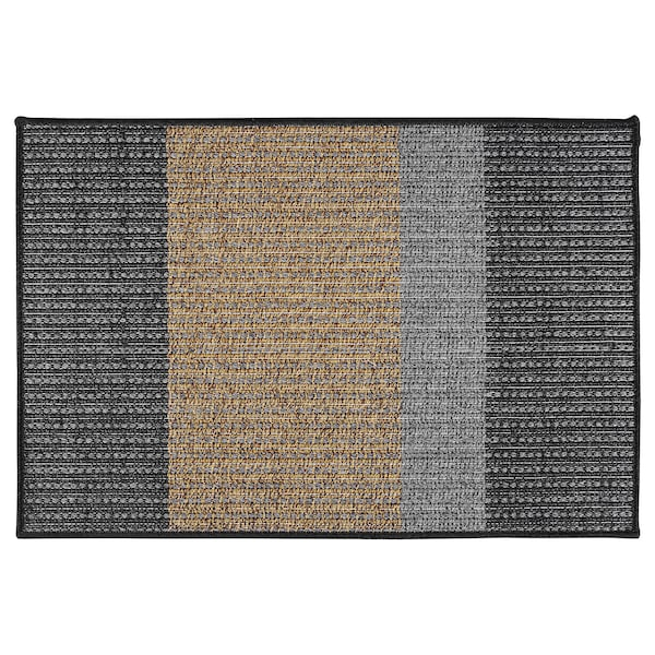 "LYNDERUP door mat indoor/outdoor multicolor 2 ' 11 "" 2 ' 0 "" 0 "" 5.81 sq feet 6.88 oz/sq ft"