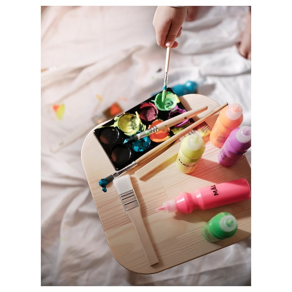 MÅLA Fluorescent/glitter paint, mixed colors